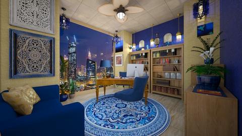 Blue Lawyers Office - Office  - by Woodsmoke22