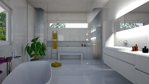 LA House - Bathroom - by flacazarataca_1