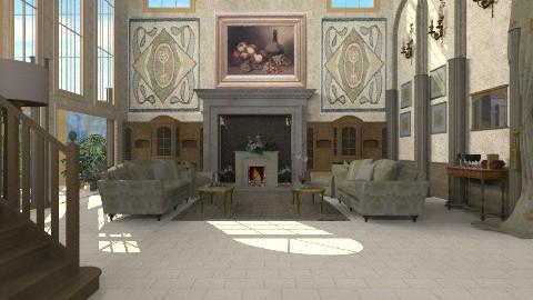 marble splendour - Classic - Living room  - by auntiehelen