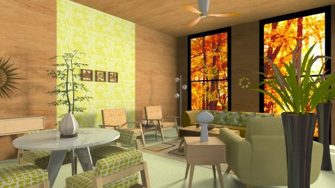 auutmn - Retro - Living room  - by mywishlr