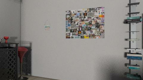 LOUNGING AROUND - Retro - Living room  - by DesignGirlie14