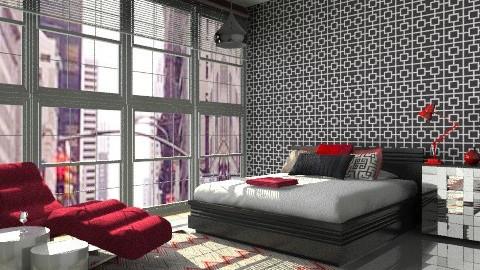 bedroom - Modern - Bedroom  - by Aliya Al