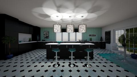 Crazy for Turquoise - Eclectic - Kitchen - by RS Designs