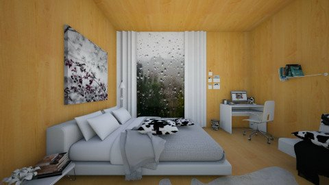 Rainy Day - Modern - Bedroom - by Anna Wu