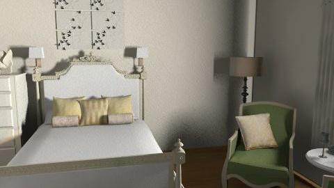 Gossip Girl Serena Dormroom - Vintage - Bedroom  - by Lenii