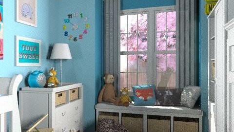 Naughty baby  - Modern - Kids room  - by pyksio