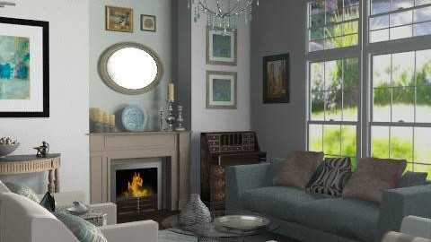 Family Home - Formal Living Room - Classic - Living room  - by LizyD
