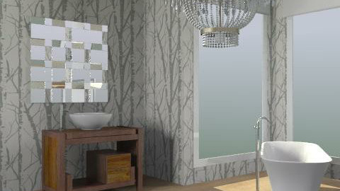 Bathroom - Minimal - Bathroom  - by jupitervasconcelos