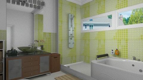 the green - Modern - Bathroom  - by Maria_Julia