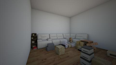 MOVING DAY - Rustic - Living room - by LovelyLadyB