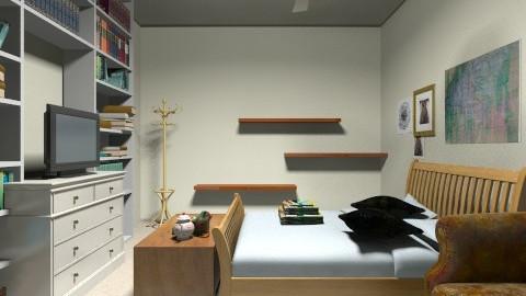 Wood - Bedroom - by 123detroit