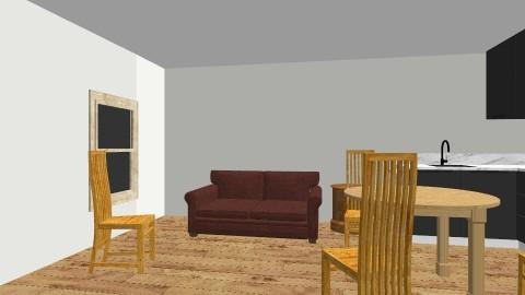 CottageBak - Vintage - Living room  - by clbroyles