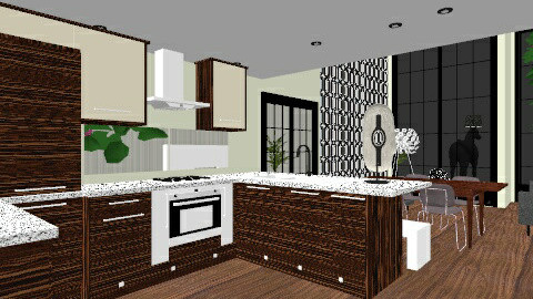 ECO ALDEA casa tuna - Glamour - Kitchen  - by domuseinterior