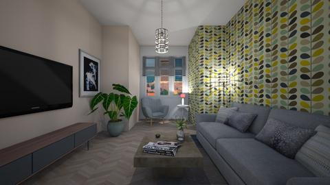Q - Modern - Living room - by Twerka