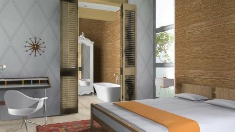 Briefly - Modern - Bedroom  - by 3rdfloor
