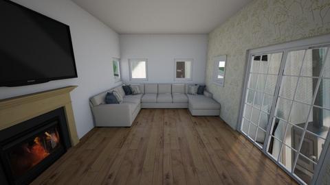 not done fancy livingroom - Living room  - by Hamzah luvs cats