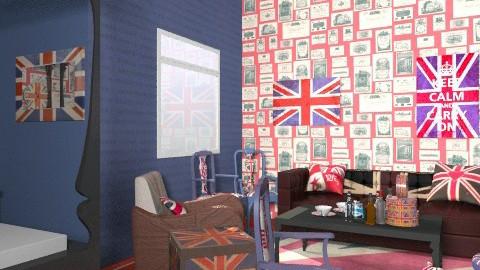 Jack Wills Bedroom - Vintage - Bedroom  - by lisyy