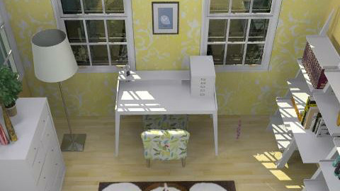 Craft Room - Retro - by Ruvie