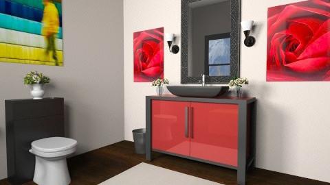 Powder Room - Bathroom - by verkam