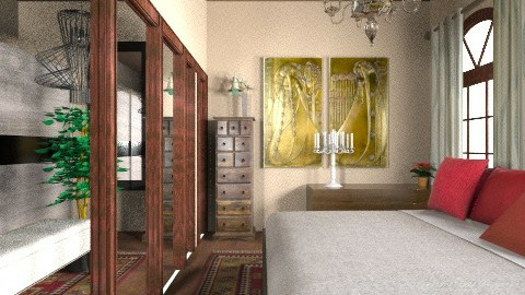 hhhhh - Rustic - Bedroom  - by Kataszabo