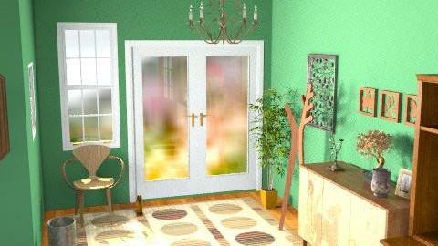 cozy entryway - Rustic - by willstephk