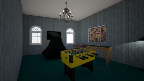 Gaming Room - Kids room  - by Dpowell12