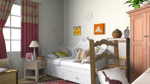 Vintage Bedroom - Vintage - Bedroom  - by coco_pps