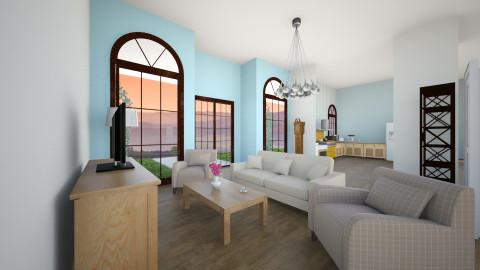 Lottaanjan bunkkeriiiiiii - Glamour - Living room - by lollero