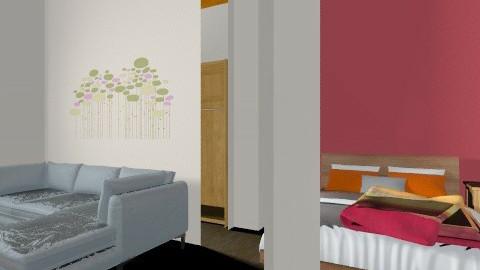Habitacion Daria - Rustic - Bedroom  - by Paula DLg