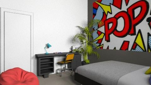 POP - Retro - Bedroom  - by TigerPrawn