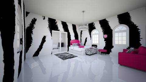 contest 3_ZEBRA - Bedroom  - by Aristar_bucks