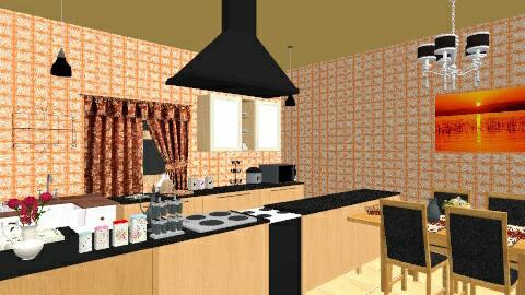 orenji - Classic - Kitchen  - by kana_sato
