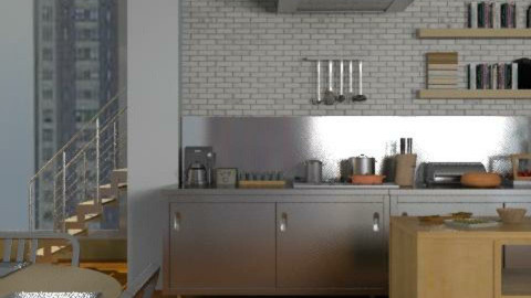 Cozy Cuisine - Kitchen  - by jenshadow_222