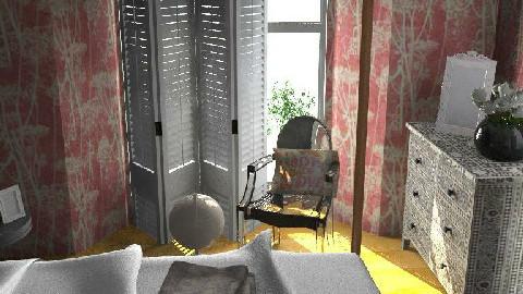 Eclectic Pink 2 - Eclectic - Bedroom - by DearDesigner