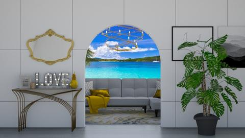 B E A C H  - Living room  - by The Auzzzziieessss