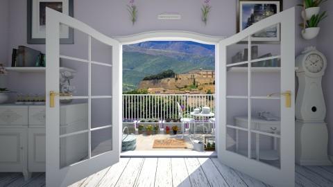 Provence - Garden - by saraellex