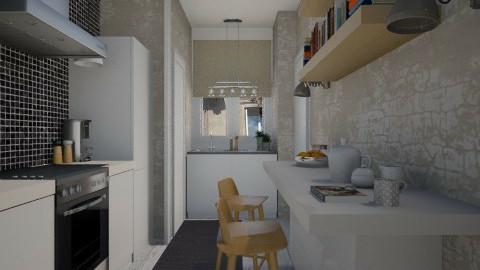 Paris tiny room - Modern - Kitchen  - by Tuija