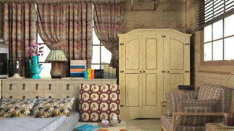 nothing special! - Country - Bedroom  - by Your well wisher