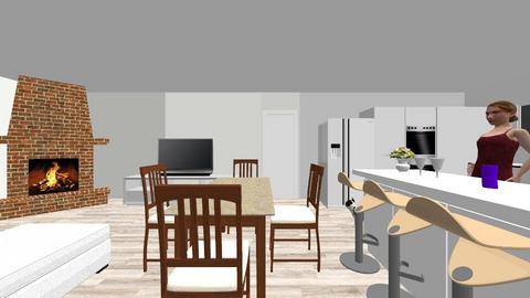 test1 - Kitchen  - by ansuace