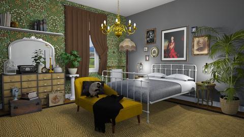 uiug - Bedroom - by annacoxyy