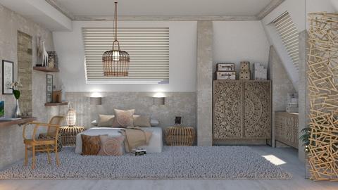 456 - Feminine - Bedroom  - by Claudia Correia