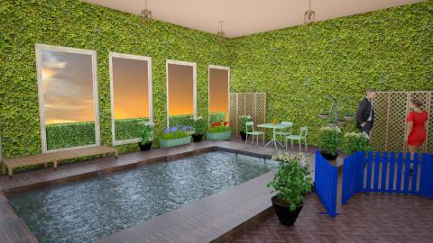 meu - Glamour - Garden  - by HannaTOTE