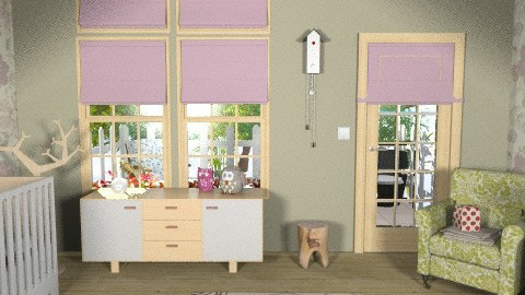 Perfect baby room - Eclectic - Kids room  - by ruthiec1