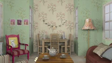 veteran - Vintage - Living room  - by trees designs