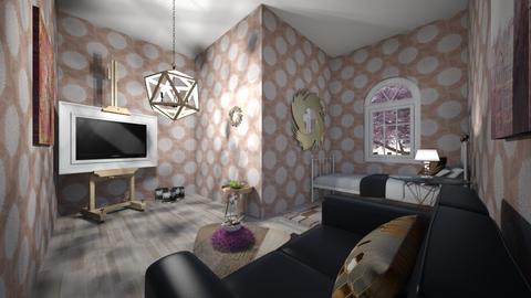 Fancy Artist Room - Bedroom  - by majestic_phoenix
