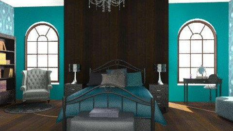 bedroom - Glamour - Bedroom  - by Aliya Al