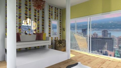 Artsy - Retro - Living room  - by HGranger2