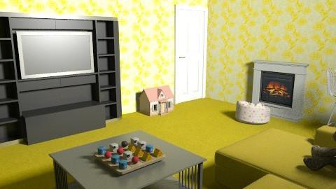 sydney - Retro - Living room  - by slclovesdogs