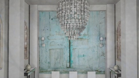 shabby glam - Glamour - Dining room  - by kadee1111
