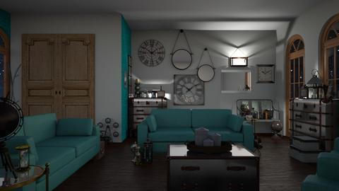 TM Living 2 - Living room - by ilikalle